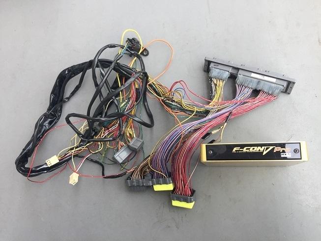 2JZ-GTE(vvtiなし)エンジン、ミッション、T78-29Dタービン、クラッチ、Vプロ、ドライブシャフトなど一式_画像5