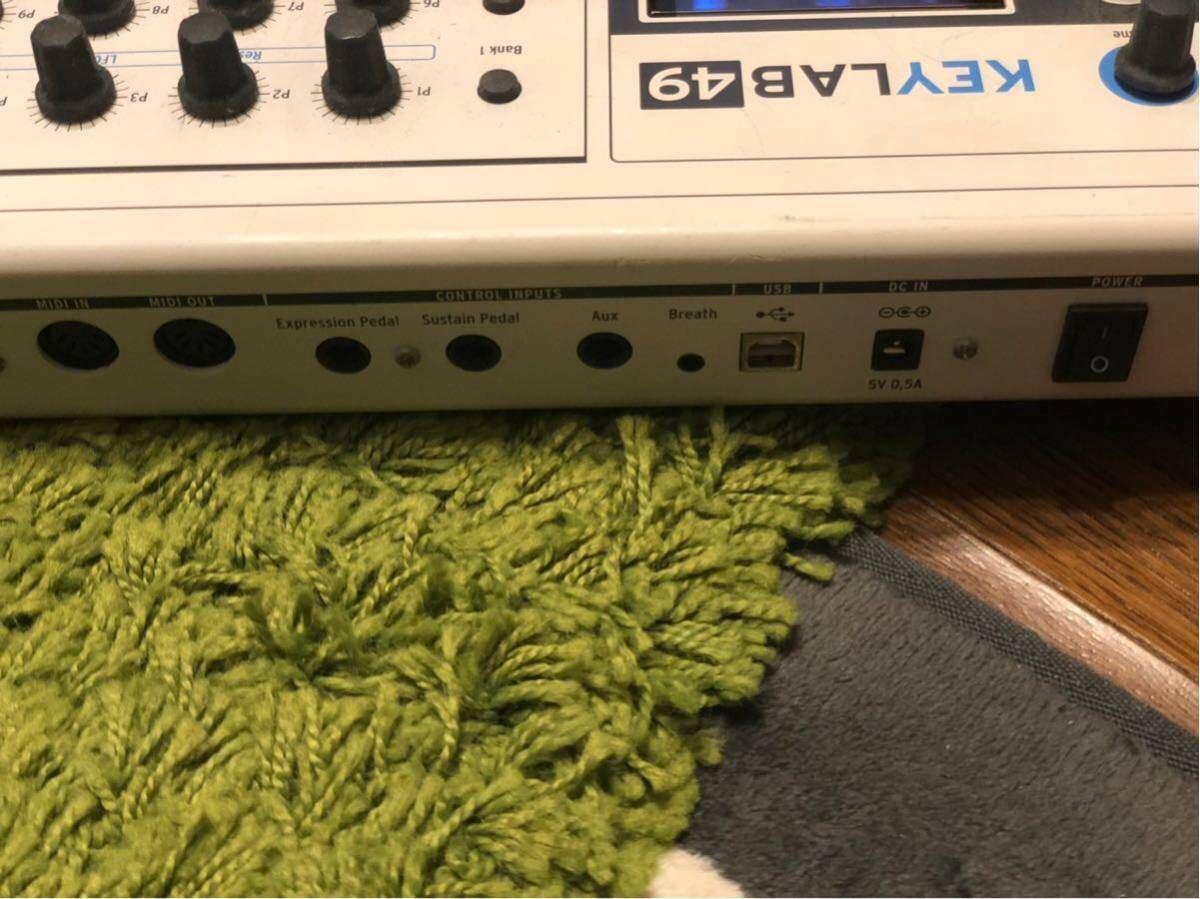 ARTURIA MIDIコントローラー KEYLAB 49_画像6