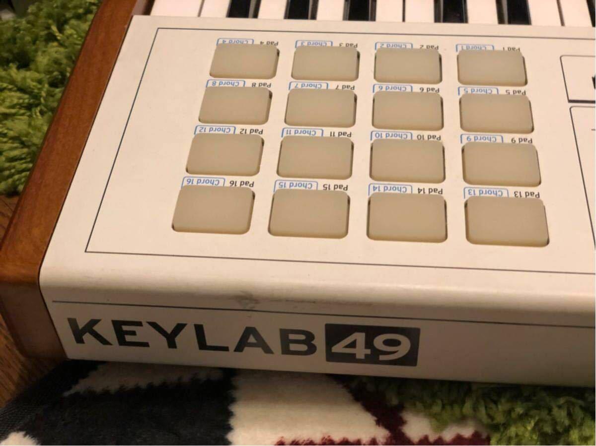 ARTURIA MIDIコントローラー KEYLAB 49_画像7