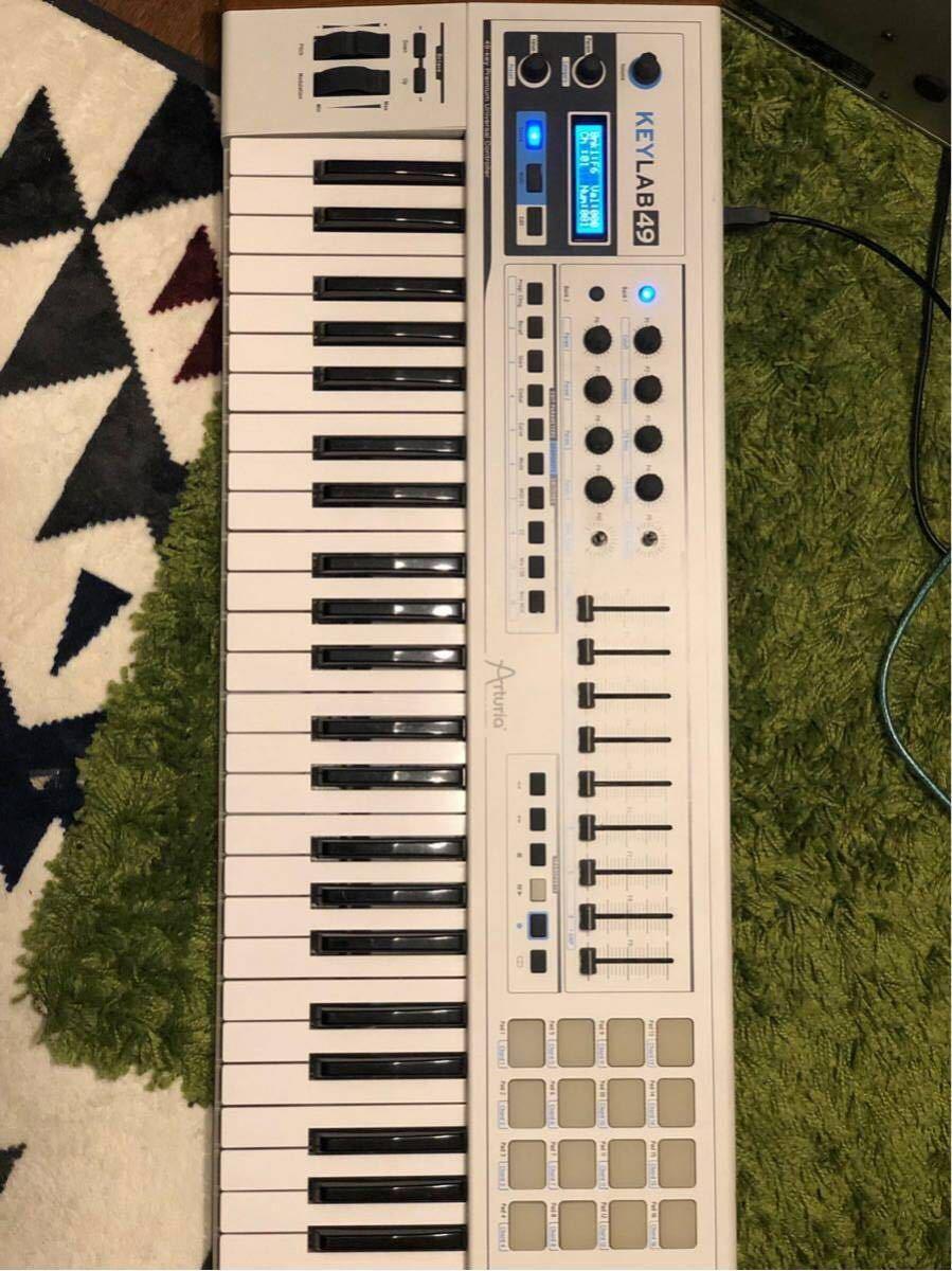 ARTURIA MIDIコントローラー KEYLAB 49