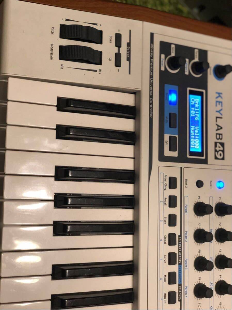 ARTURIA MIDIコントローラー KEYLAB 49_画像3