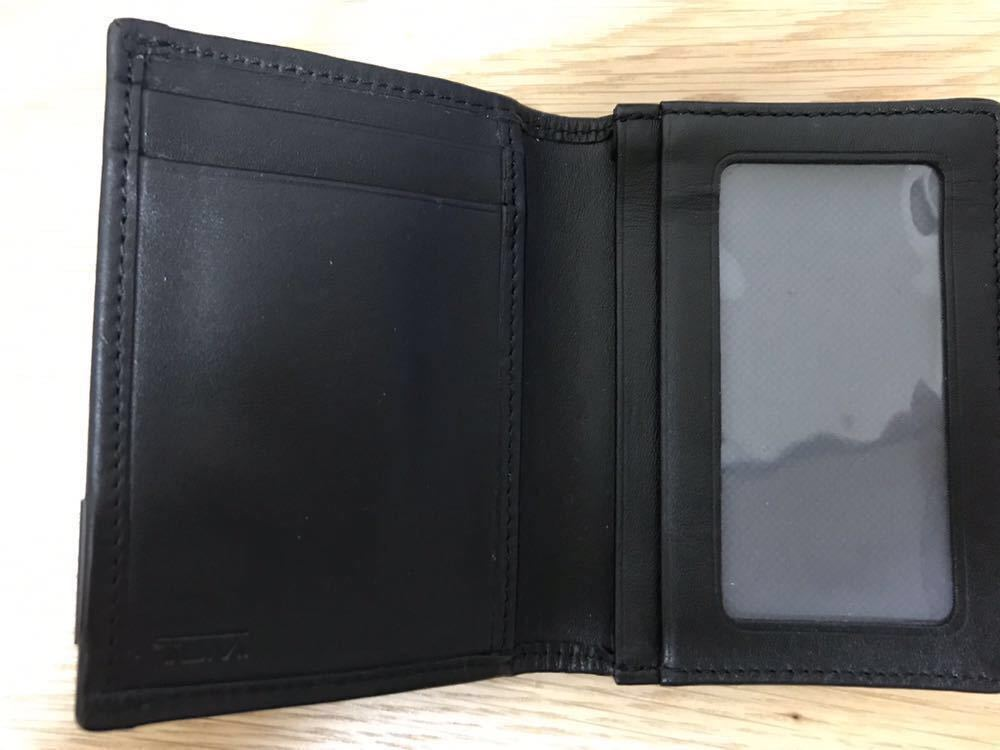 [トゥミ]TUMI アルファ ガセット カードケース カード入れ Alpha SLGs Gusseted Card Case ID ブラック 黒 119256D-ID_画像4