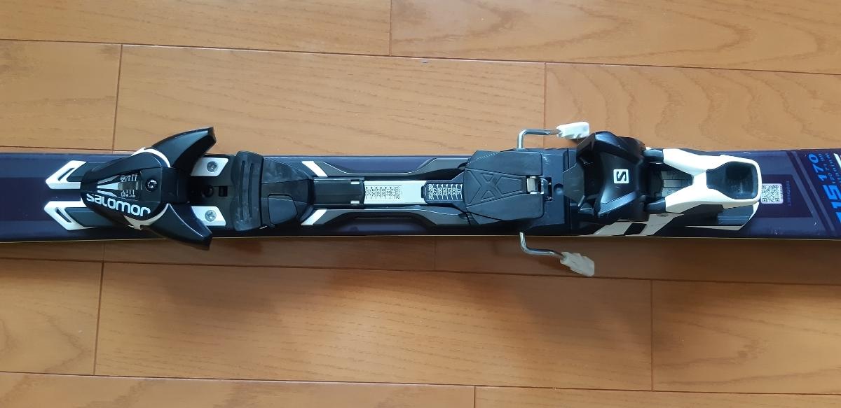 SALOMON X-RACE SC 170cm 16/17モデル 金具付スキー板_画像3