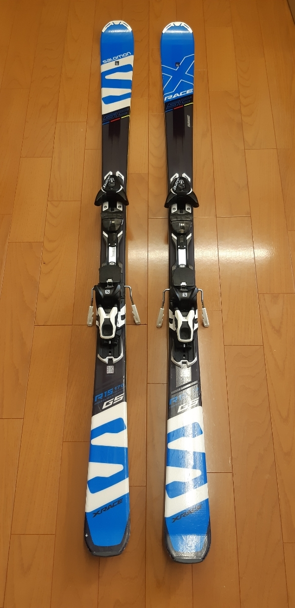SALOMON X-RACE SC 170cm 16/17モデル 金具付スキー板