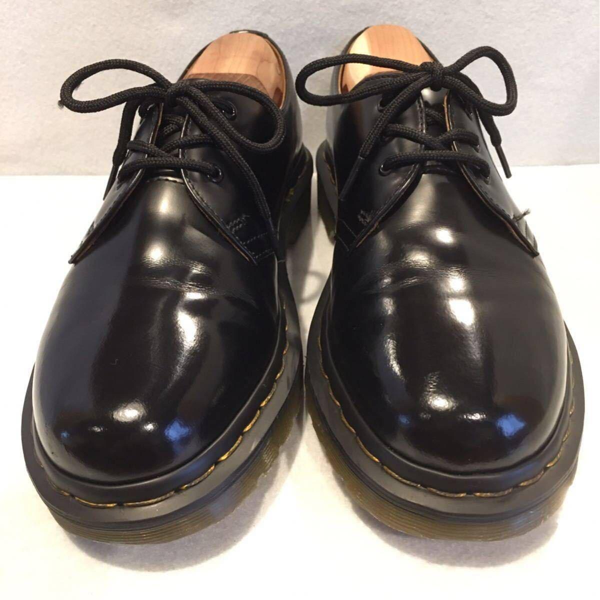 ★Dr.Martens ドクターマーチン 3ホール★UK5(24.0cm)★黒 ブラック★革靴 レザーシューズ★_画像2