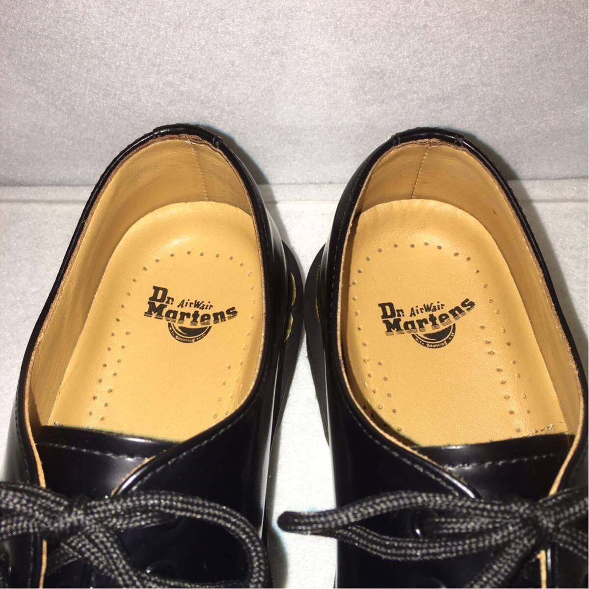 ★Dr.Martens ドクターマーチン 3ホール★UK5(24.0cm)★黒 ブラック★革靴 レザーシューズ★_画像6