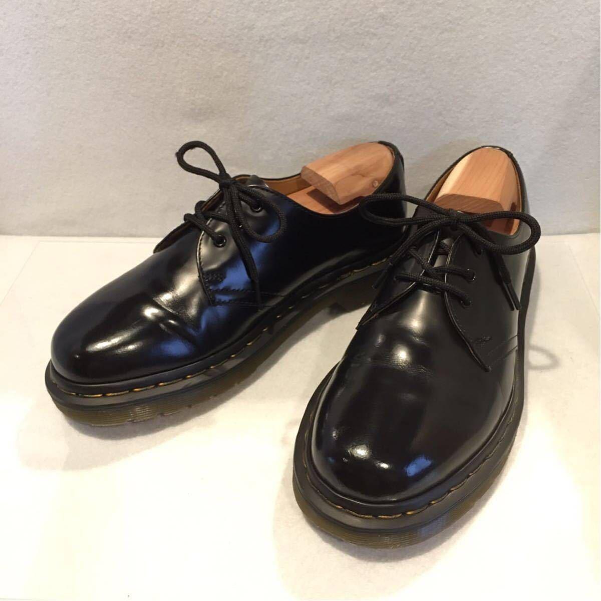 ★Dr.Martens ドクターマーチン 3ホール★UK5(24.0cm)★黒 ブラック★革靴 レザーシューズ★