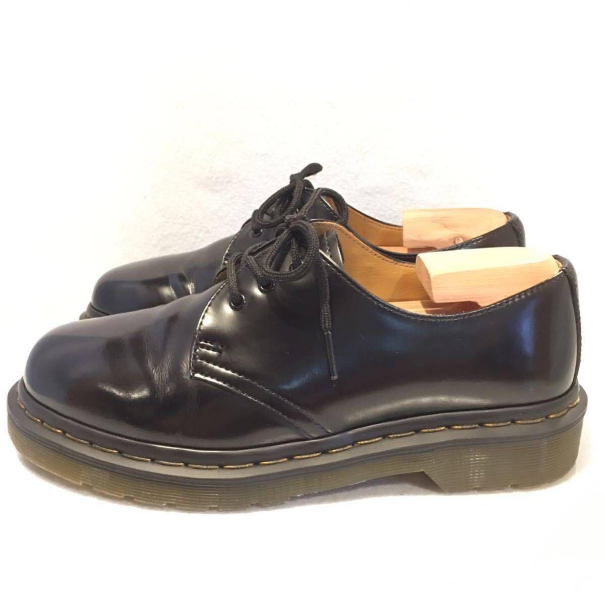 ★Dr.Martens ドクターマーチン 3ホール★UK5(24.0cm)★黒 ブラック★革靴 レザーシューズ★_画像3