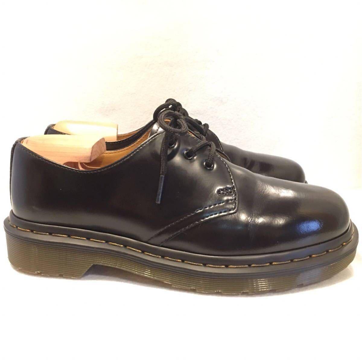 ★Dr.Martens ドクターマーチン 3ホール★UK5(24.0cm)★黒 ブラック★革靴 レザーシューズ★_画像5