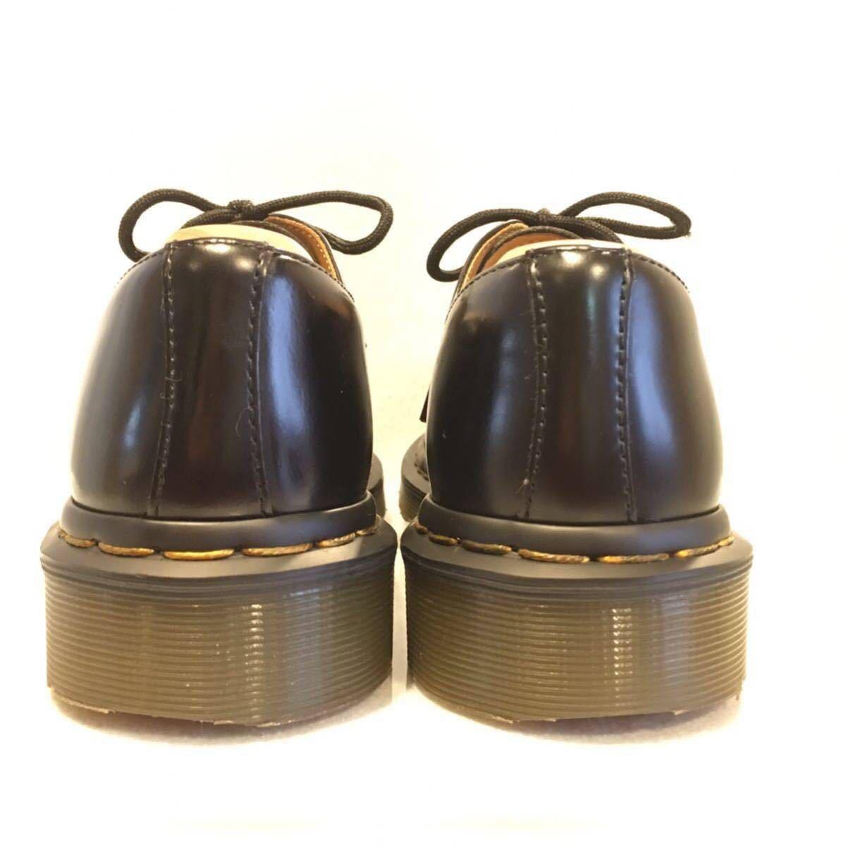 ★Dr.Martens ドクターマーチン 3ホール★UK5(24.0cm)★黒 ブラック★革靴 レザーシューズ★_画像4