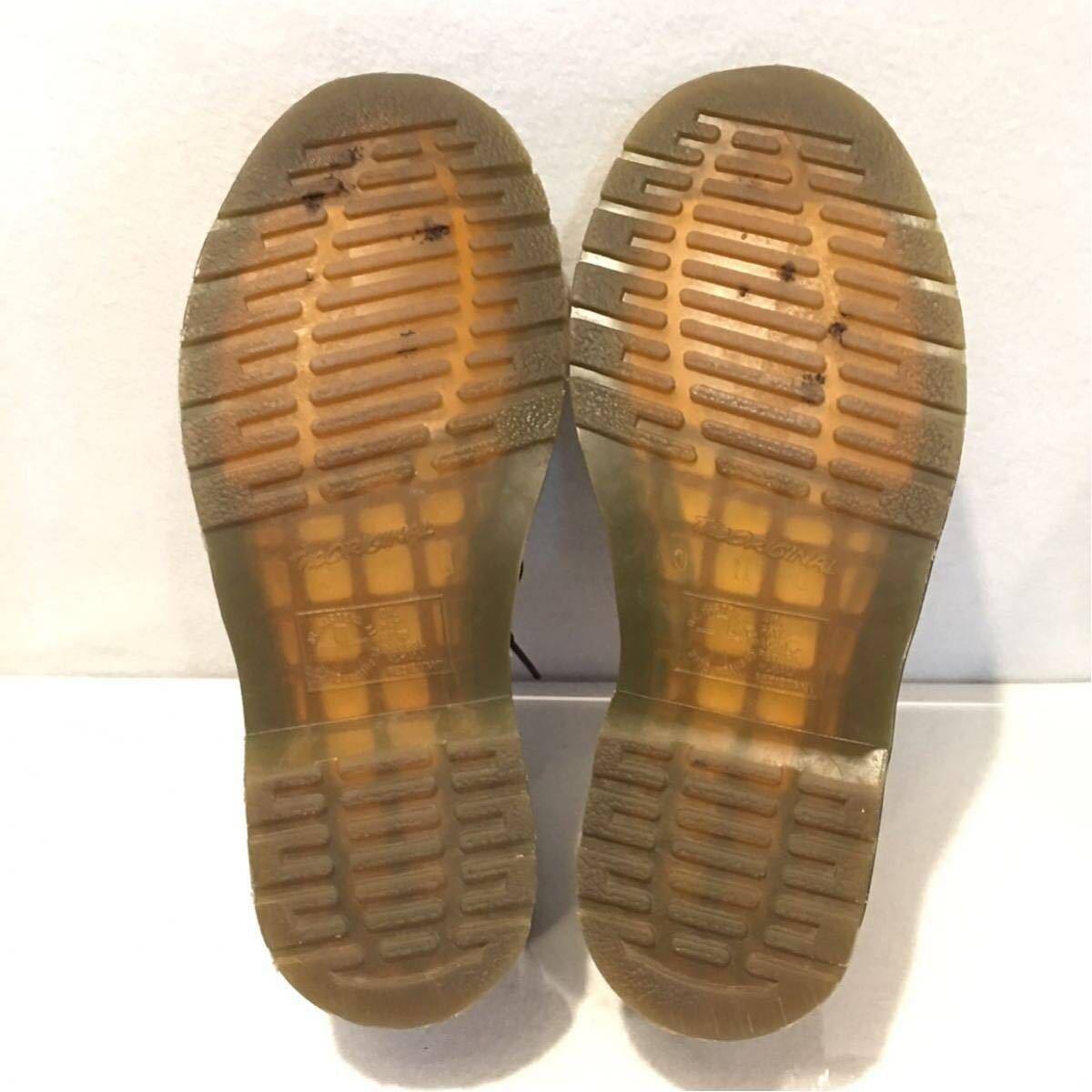 ★Dr.Martens ドクターマーチン 3ホール★UK5(24.0cm)★黒 ブラック★革靴 レザーシューズ★_画像7