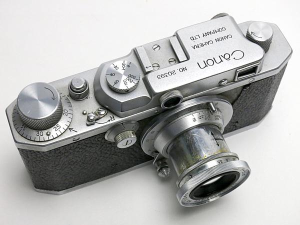 ☆キヤノン SII 型 5cm/3.5 付、MIOJ /難有・現状_画像5