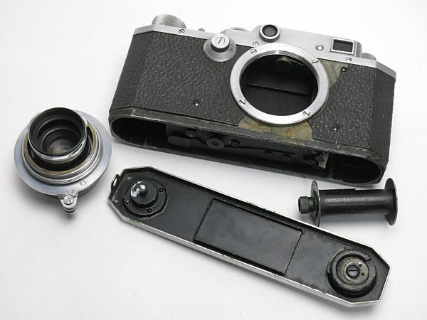 ☆キヤノン SII 型 5cm/3.5 付、MIOJ /難有・現状_画像8