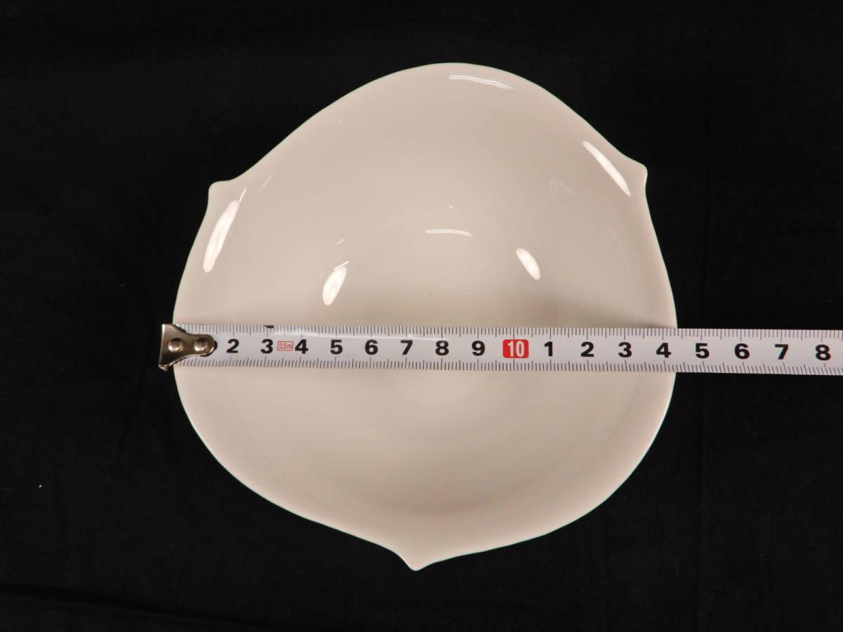 Meissen マイセン 波の戯れ ホワイト サラダボウル 5枚セット ブランド食器 _画像7