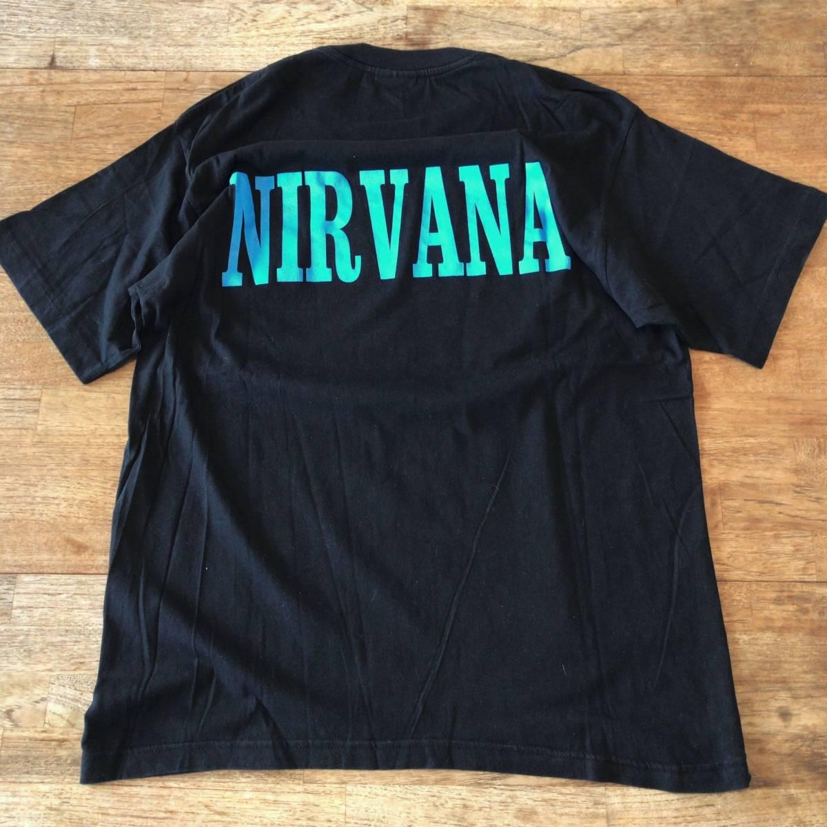 90s カートコバーン ビンテージ Tシャツ 追悼 nirvana ニルヴァーナ ニルバーナ レア バンドT ロックT kurt cobain vintage_画像5
