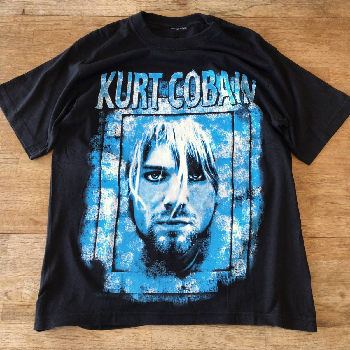 90s カートコバーン ビンテージ Tシャツ 追悼 nirvana ニルヴァーナ ニルバーナ レア バンドT ロックT kurt cobain vintage_画像1