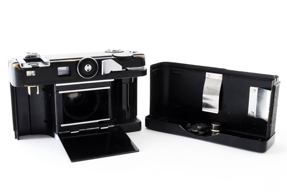 ★希少★ペトリ PETRI Color 35 40mm F2.8 ブラック #2862_画像5