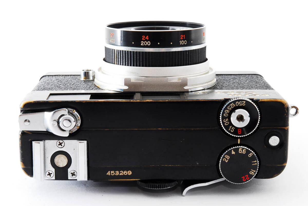 ★希少★ペトリ PETRI Color 35 40mm F2.8 ブラック #2862_画像6
