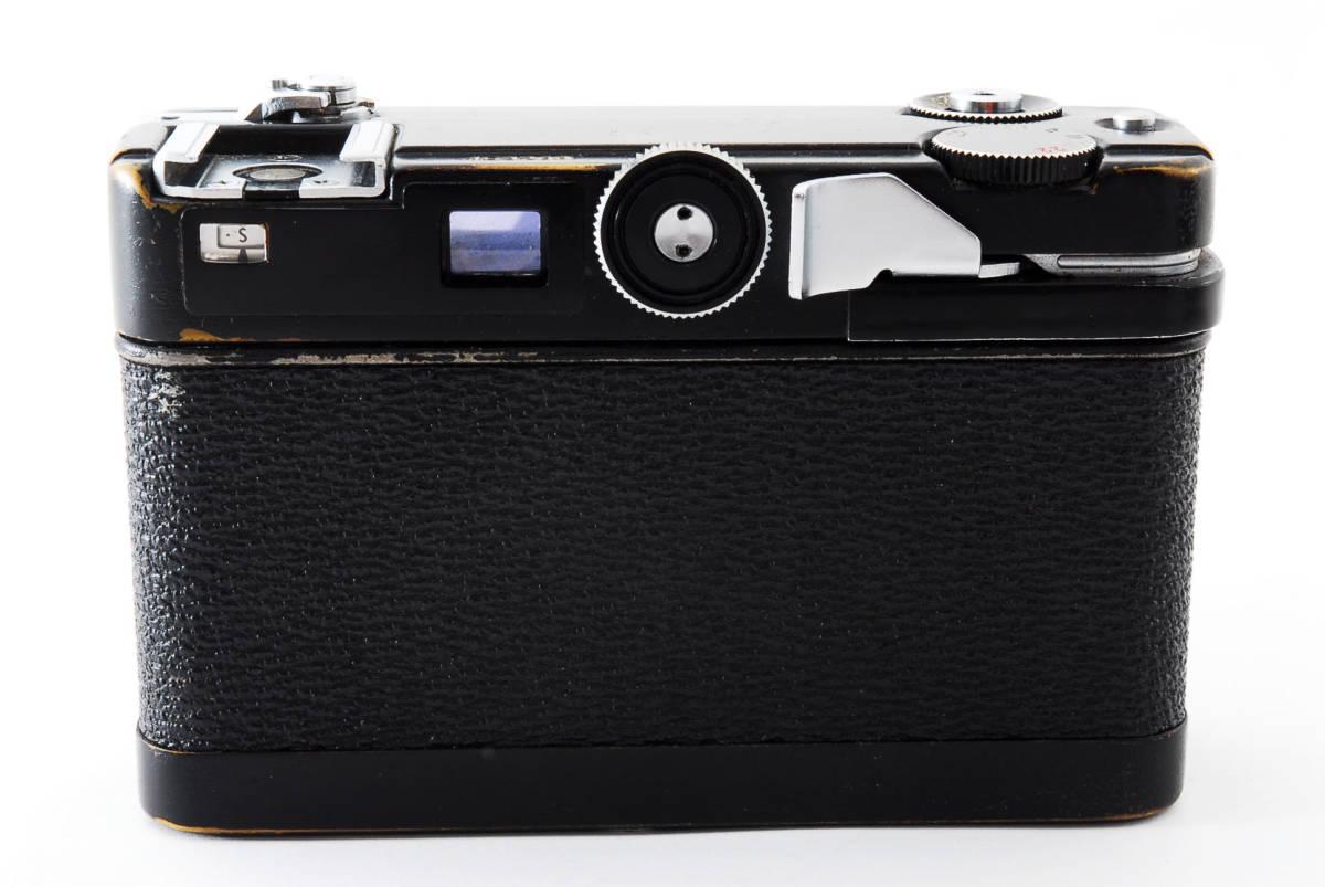 ★希少★ペトリ PETRI Color 35 40mm F2.8 ブラック #2862_画像4