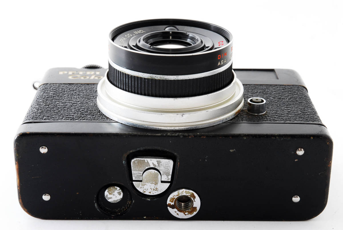★希少★ペトリ PETRI Color 35 40mm F2.8 ブラック #2862_画像7