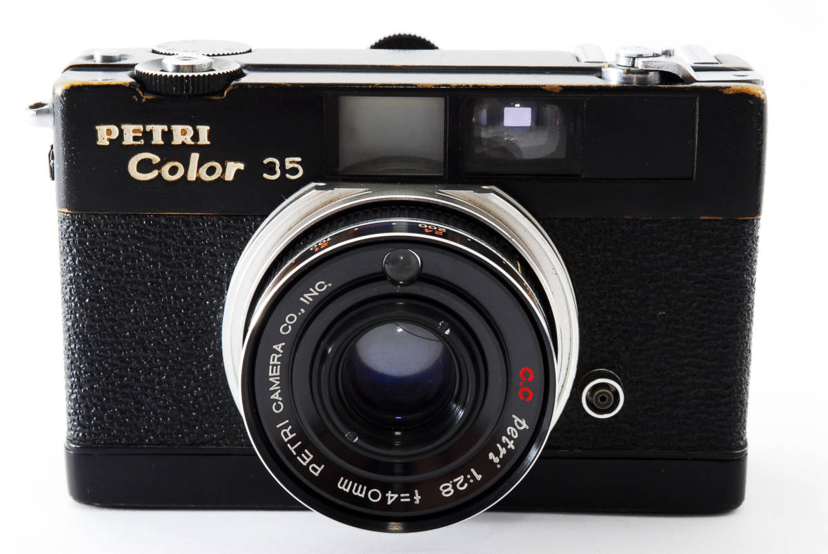 ★希少★ペトリ PETRI Color 35 40mm F2.8 ブラック #2862_画像2