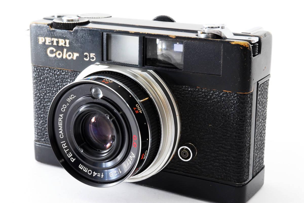 ★希少★ペトリ PETRI Color 35 40mm F2.8 ブラック #2862
