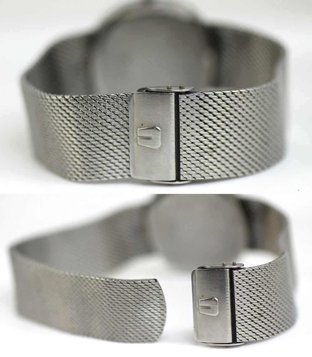 【UNIVERSAL GENEVE】ユニバーサルジュネーブ 腕時計 ホワイトダイヤル メンズ 17石 手巻き 管理番号 O-5.15_画像9