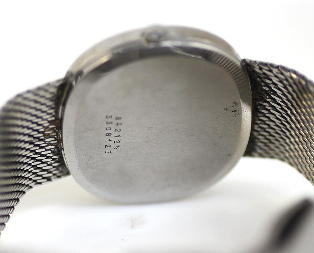 【UNIVERSAL GENEVE】ユニバーサルジュネーブ 腕時計 ホワイトダイヤル メンズ 17石 手巻き 管理番号 O-5.15_画像8