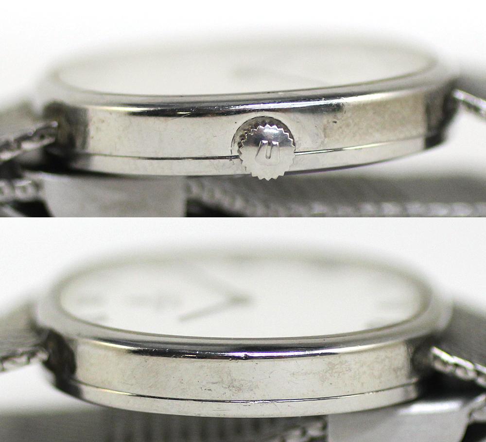 【UNIVERSAL GENEVE】ユニバーサルジュネーブ 腕時計 ホワイトダイヤル メンズ 17石 手巻き 管理番号 O-5.15_画像5