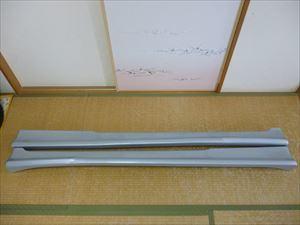 アルトワークス HA21S用 HAMAMER製サイドステップ 自家塗装品 中古
