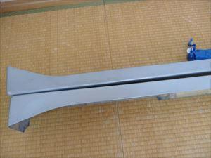 アルトワークス HA21S用 HAMAMER製サイドステップ 自家塗装品 中古_画像5
