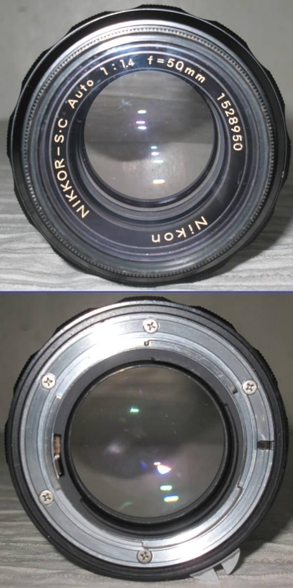 Nikon/ニコン 一眼レフ カメラ F2 おまけ:フラッシュ+望遠レンズ付き フォトミック/フィルム カメラ_画像5