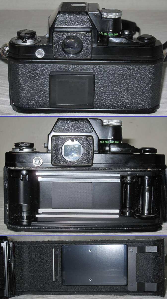 Nikon/ニコン 一眼レフ カメラ F2 おまけ:フラッシュ+望遠レンズ付き フォトミック/フィルム カメラ_画像4