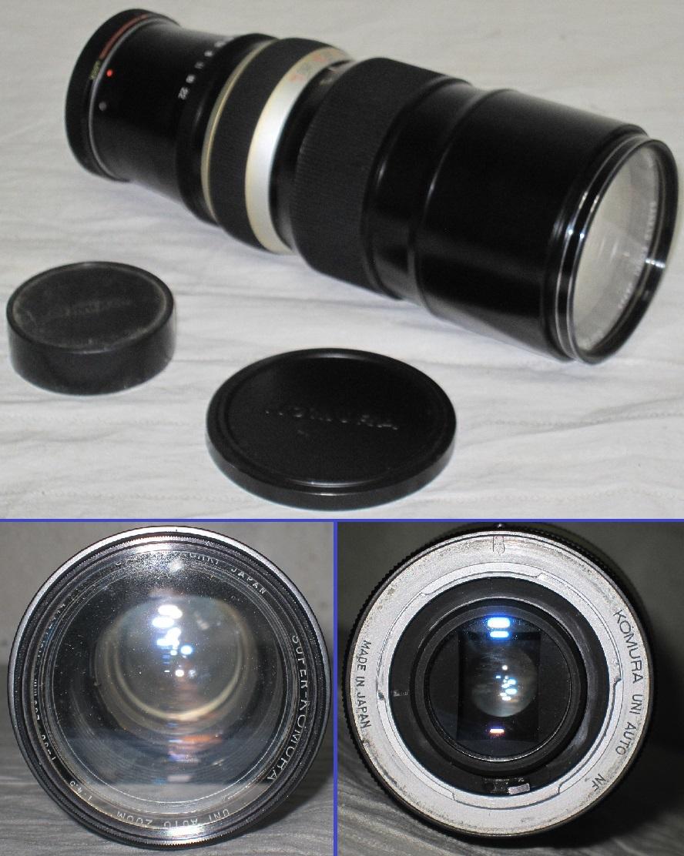 Nikon/ニコン 一眼レフ カメラ F2 おまけ:フラッシュ+望遠レンズ付き フォトミック/フィルム カメラ_画像6