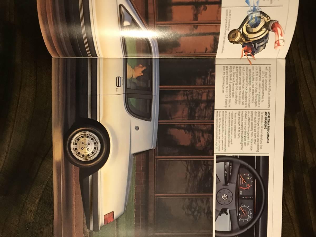 MERCURY/ 1984 マーキュリー/ 自動車カタログ/ アメリカ版/ US版/ 国内在庫品/ COUGAR/クーガー_画像2
