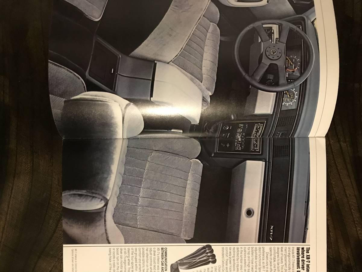 MERCURY/ 1984 マーキュリー/ 自動車カタログ/ アメリカ版/ US版/ 国内在庫品/ COUGAR/クーガー_画像3