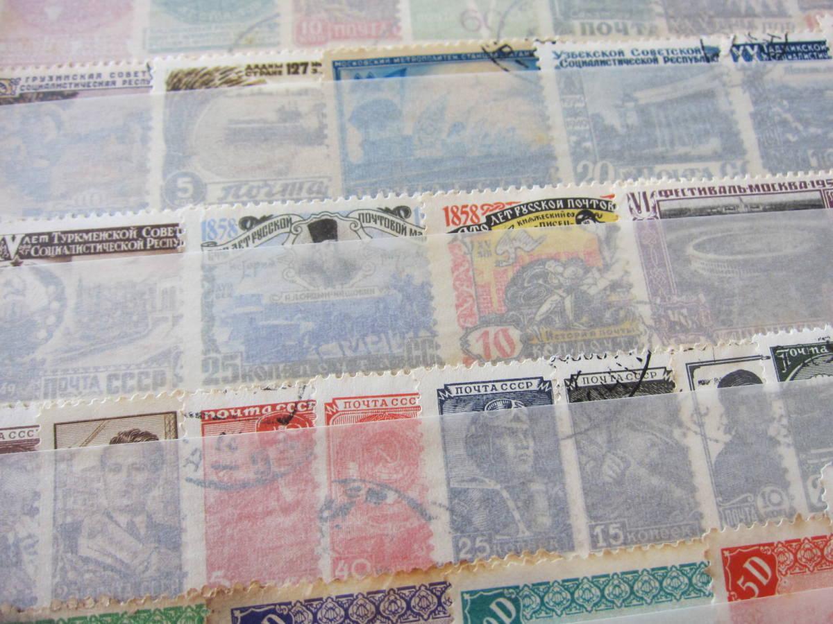 ★外国切手 未使用約100枚 済約650枚 国・年代いろいろ★_画像2