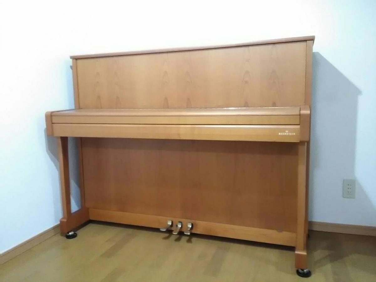 ベヒシュタイン A.3 アップライトピアノ 状態良好 集合住宅1F保管_画像2