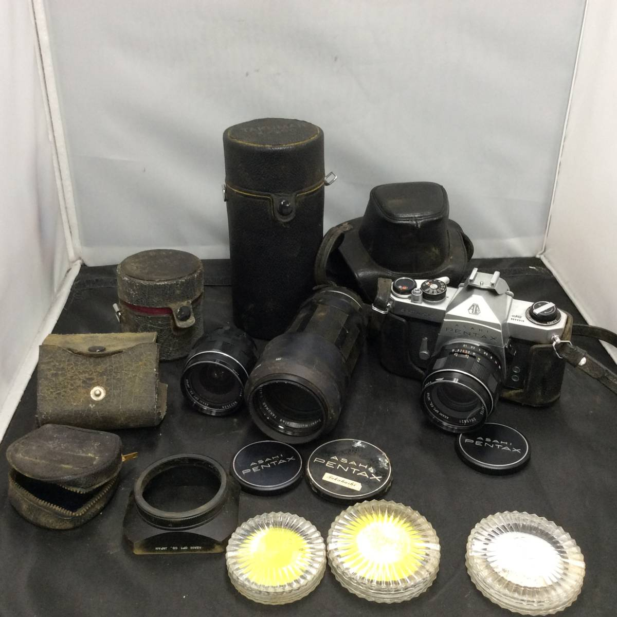 ●○5/14 163883 PENTAX カメラ 本体 Nikon ASAHI レンズ TOSHIBA フラッシュ セット まとめ○●_画像2