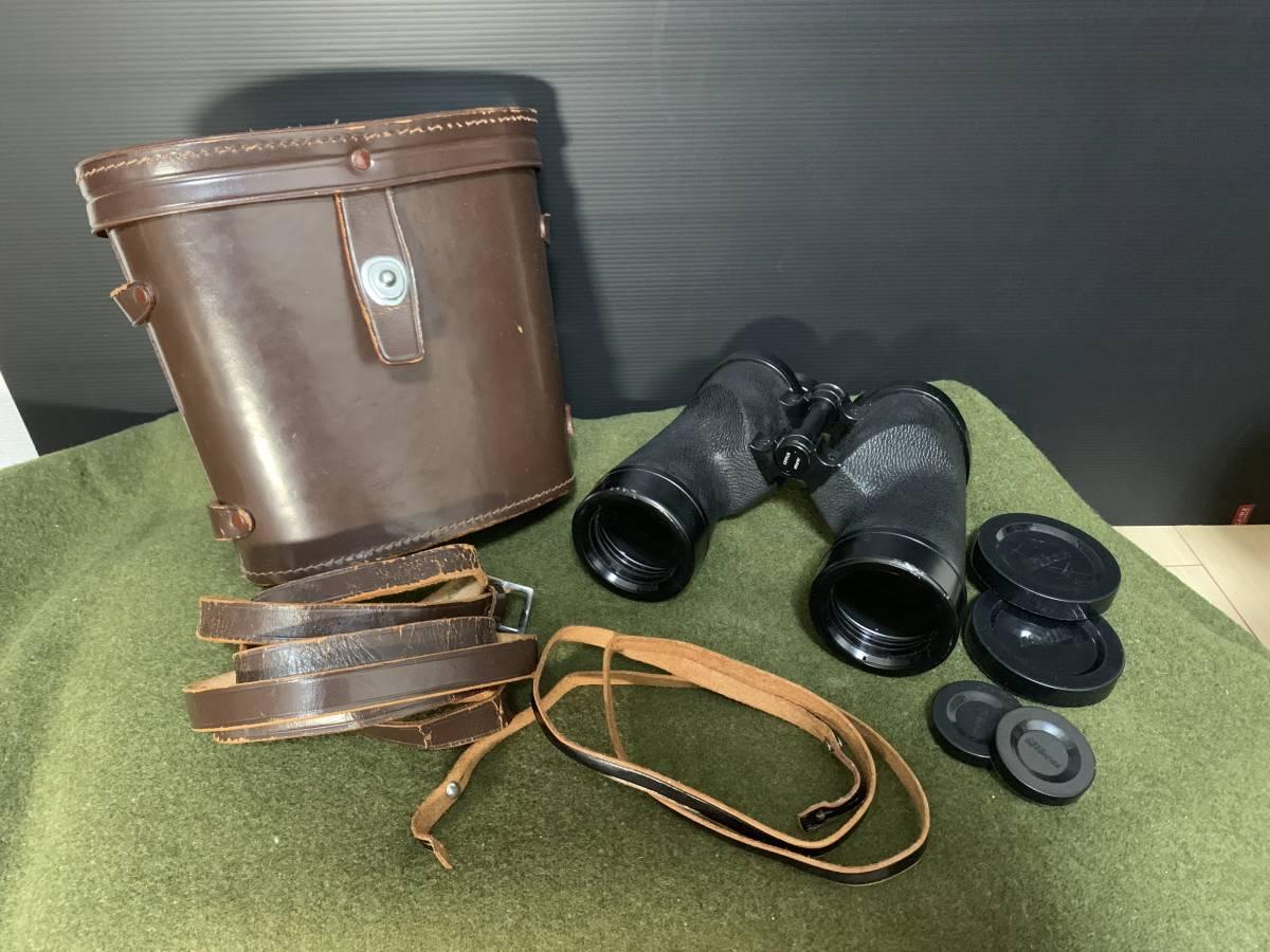 ニコン 7×50 7.3 双眼鏡 トロピカル 日本光学 ケースつき ww2 米軍