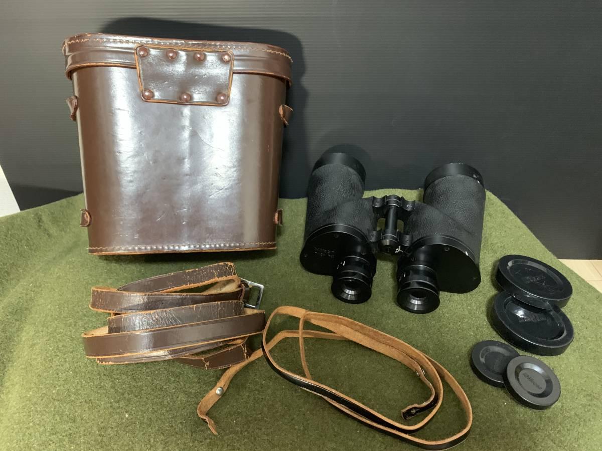 ニコン 7×50 7.3 双眼鏡 トロピカル 日本光学 ケースつき ww2 米軍_画像2