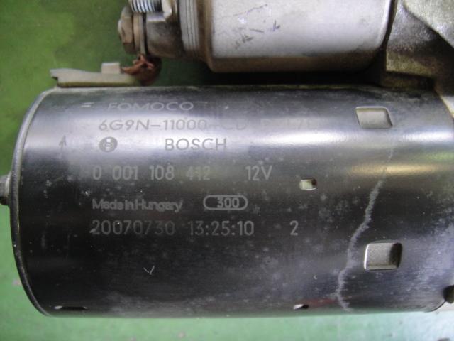 ボルボV70/XC70/XC90/XC60/S80スターターモーター/セルモーター(中古品)_画像5