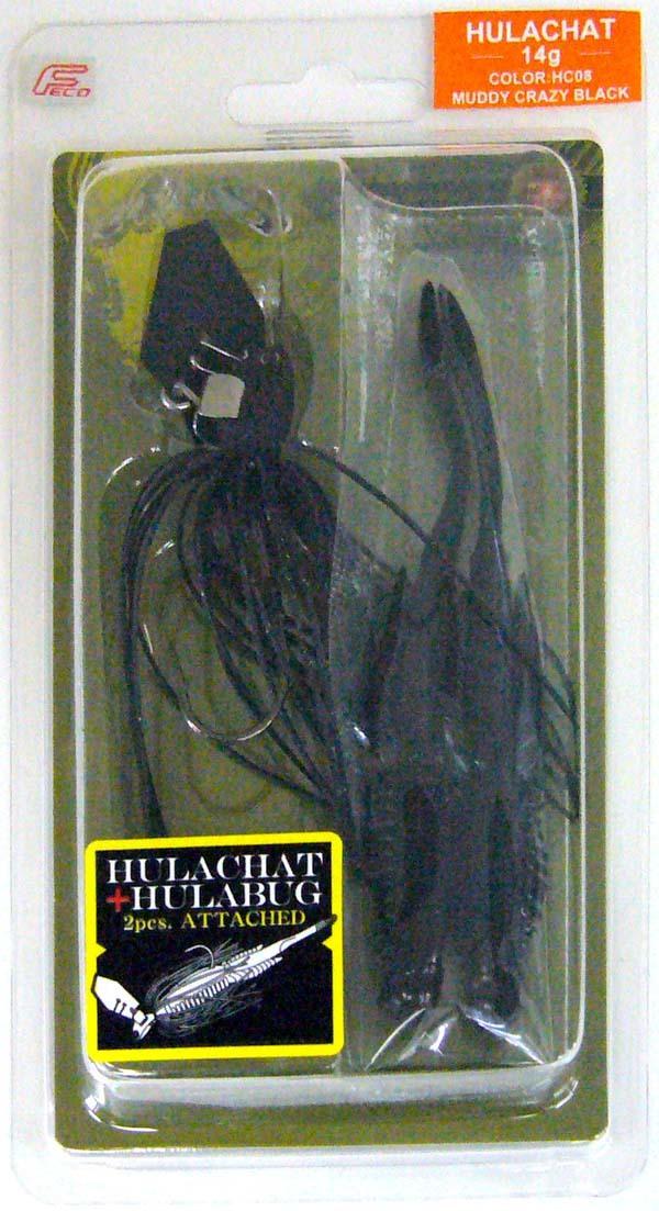 ノリーズ フラチャット 14g HC08 マディクレイジーブラック 3