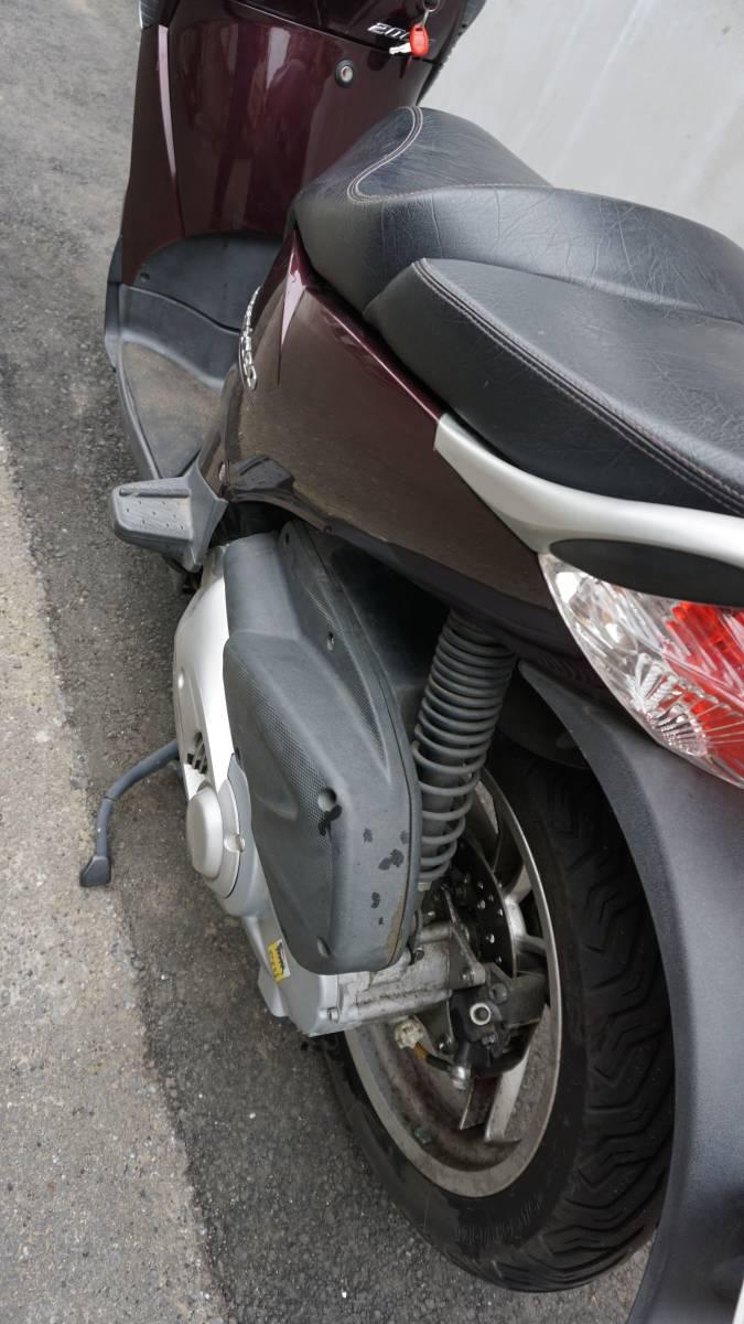 2014年新車購入 アプリリア スカラベオ200ie 走行6000km未満 _画像7