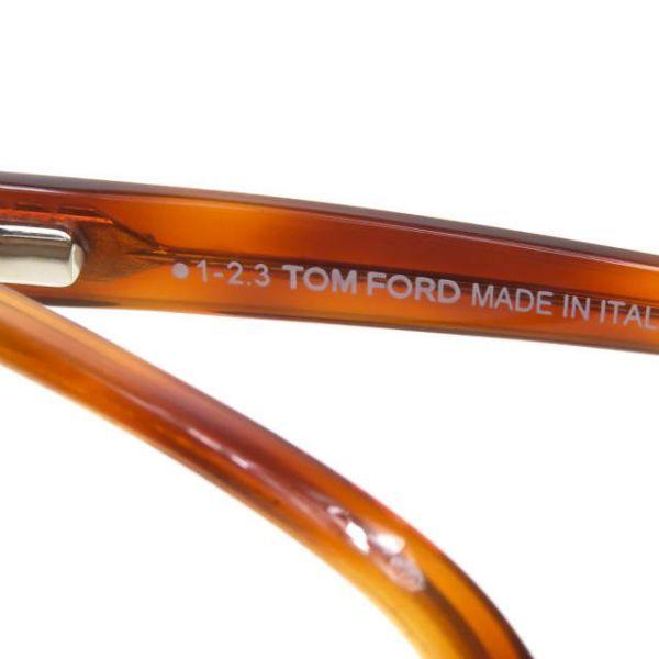 TOM FORD トムフォード イタリア製 TF5302 053 レクタングル メガネ ハバナ 眼鏡 サングラス ☆☆mm7619_画像7