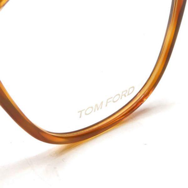 TOM FORD トムフォード イタリア製 TF5302 053 レクタングル メガネ ハバナ 眼鏡 サングラス ☆☆mm7619_画像10