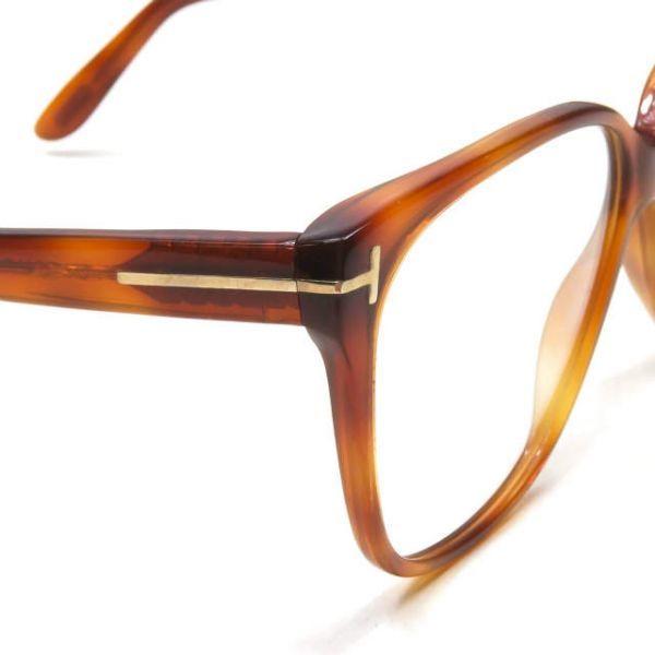 TOM FORD トムフォード イタリア製 TF5302 053 レクタングル メガネ ハバナ 眼鏡 サングラス ☆☆mm7619_画像5