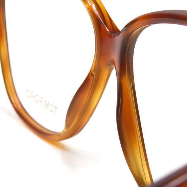 TOM FORD トムフォード イタリア製 TF5302 053 レクタングル メガネ ハバナ 眼鏡 サングラス ☆☆mm7619_画像6