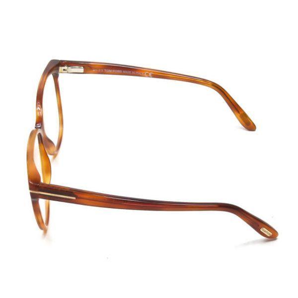 TOM FORD トムフォード イタリア製 TF5302 053 レクタングル メガネ ハバナ 眼鏡 サングラス ☆☆mm7619_画像3