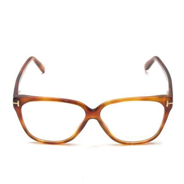 TOM FORD トムフォード イタリア製 TF5302 053 レクタングル メガネ ハバナ 眼鏡 サングラス ☆☆mm7619_画像2